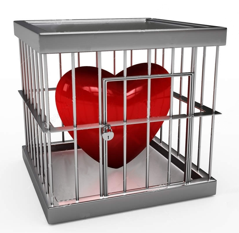 картинки сердце за решеткой радость